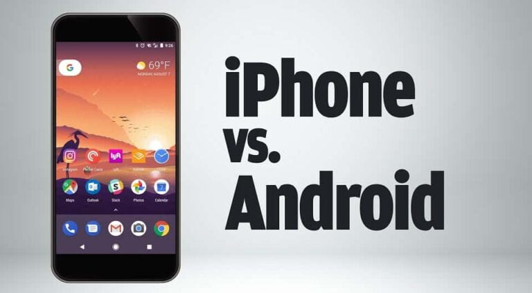 Difference Between iPhone And Android Phones