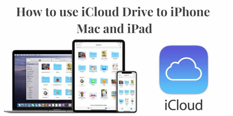 How to use iCloud Drive