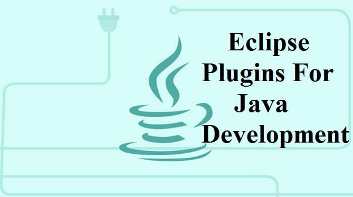 Eclipse Plugins For Java Development