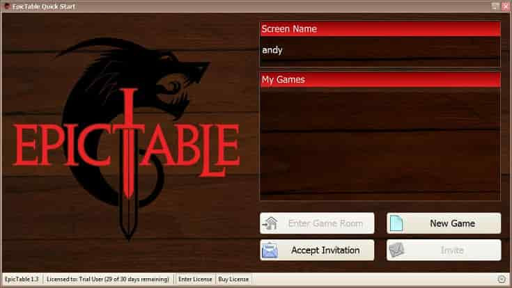 Epictable