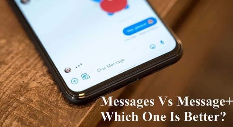 Messages Vs Message+
