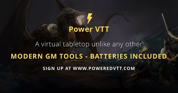 Power Virtual TableTop