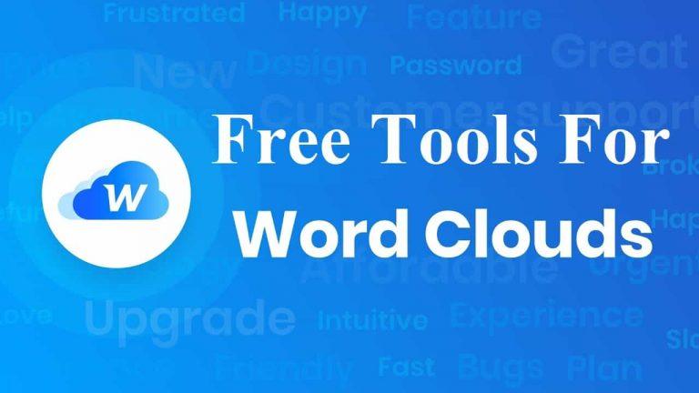 Word Cloud Generators Tool