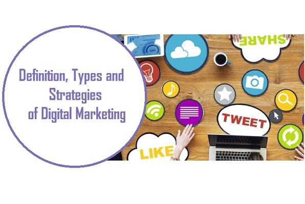 Definition Strengths Types and Strategies of Digital Marketing