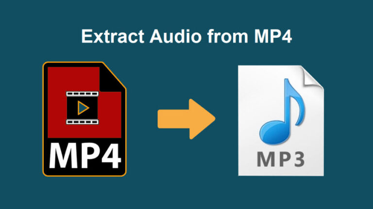 Extract Audio From MP4 Video