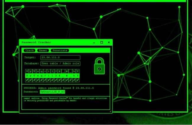 Geek Prank Hacker Typer
