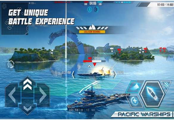 Pacific Warships - World of Naval PvP Warfare