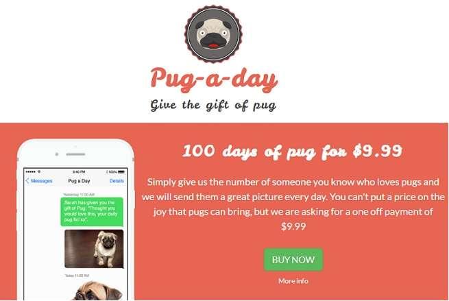 Pug A Day