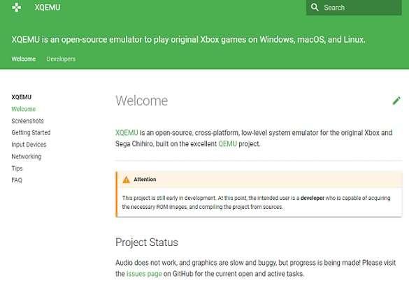 XQEMU Xbox 360 Emulator