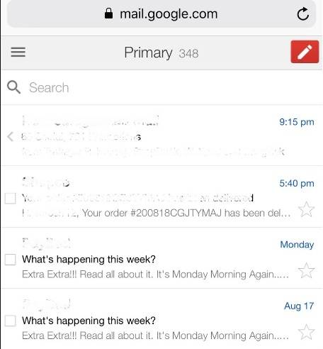 primary mail in gmail