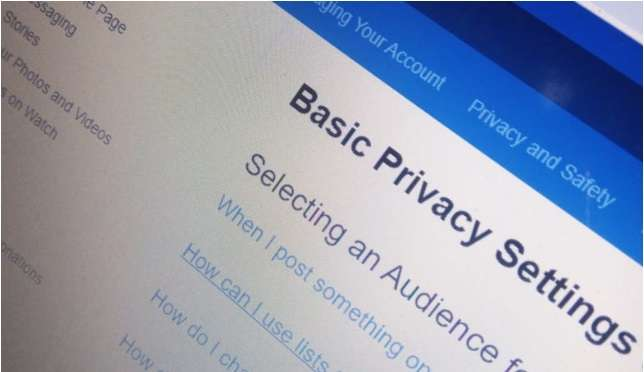 Manage Facebook Privacy Settings