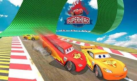 Splashy Superhero Vertigo Racing