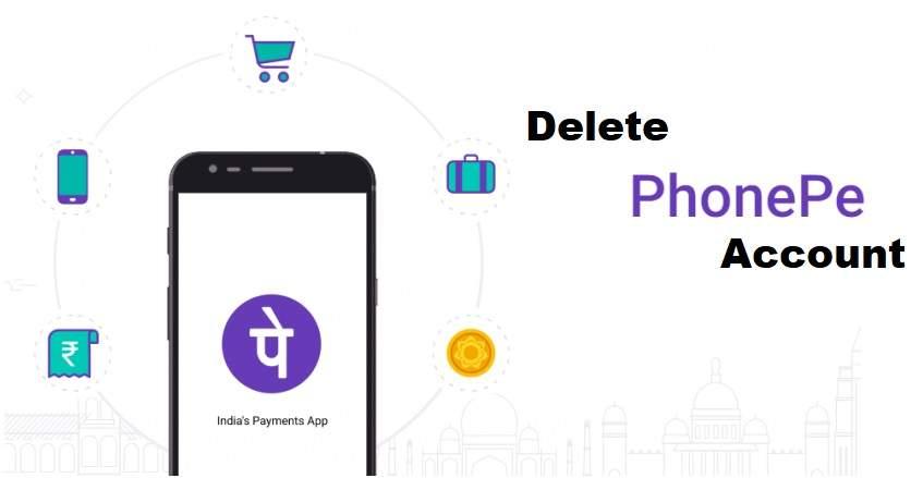 Delete PhonePe Account