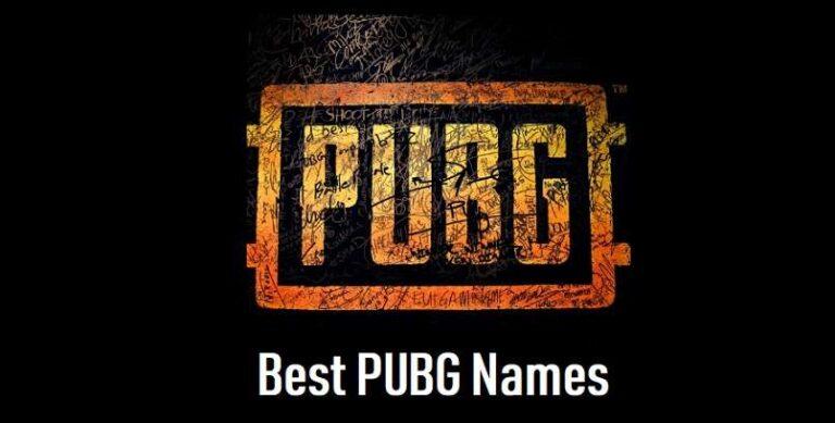 Stylish, Cool & Funny PUBG names
