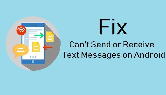 Can't Send Or Receive Text Messages