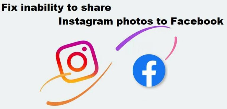 Fix inability to share Instagram photos to Facebook