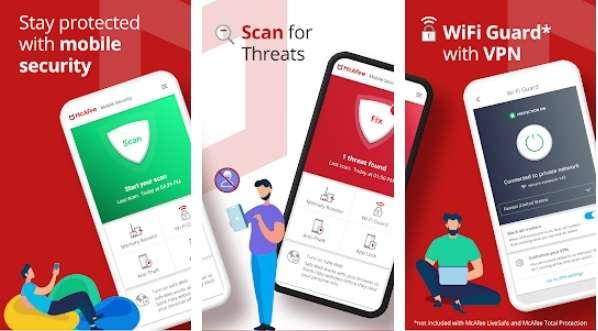 Mobile Security - Antivirus, Wi-Fi VPN & Anti-Theft