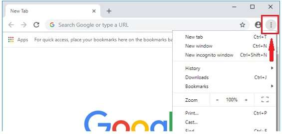 more option in Chrome