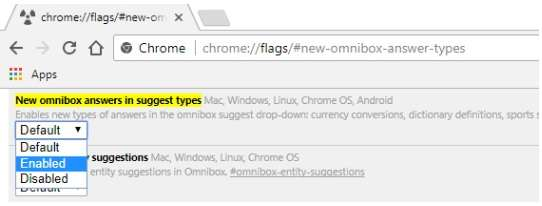 new-omnibox-answer-types