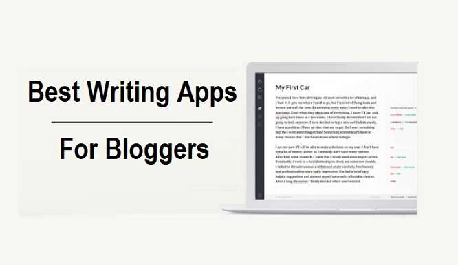 Best Writing Apps For Bloggers