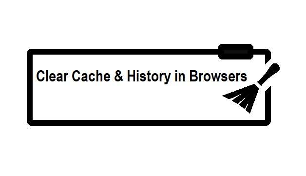 Clear Cache & History