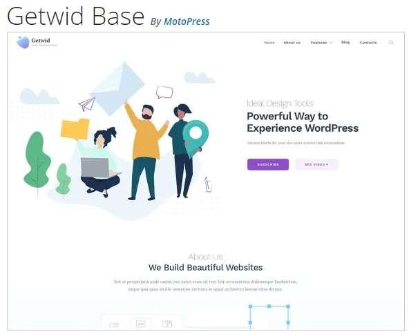 Getwid Base