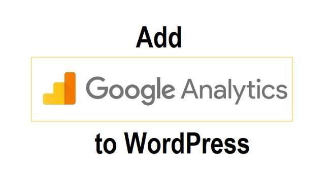 Add Google Analytics On WordPress
