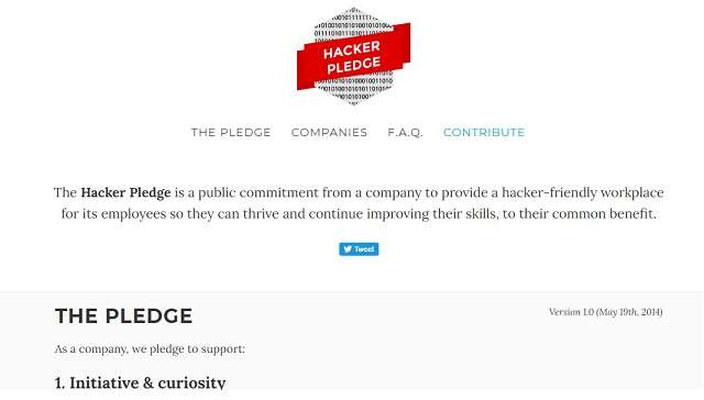 Hack.pledge