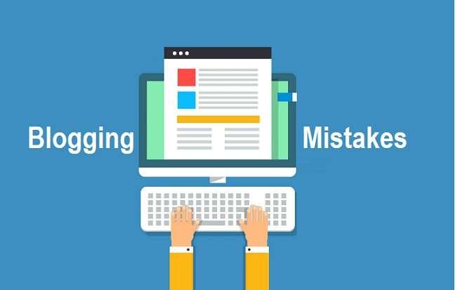 blogging mistakes Amateur Blogs