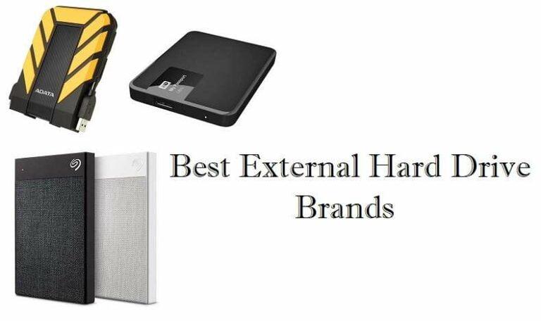Best External Hard Drive & Best External SSD Brands