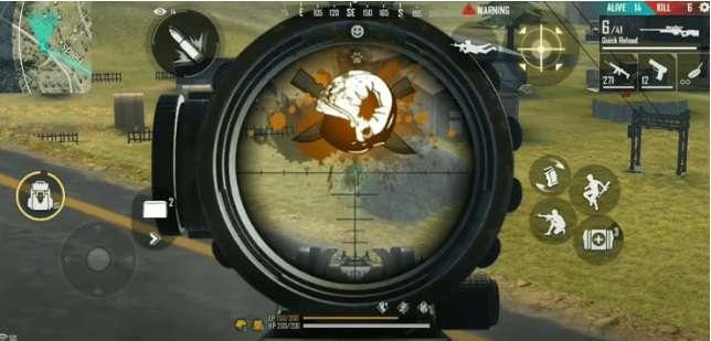 Controls for Professional FF Sniper