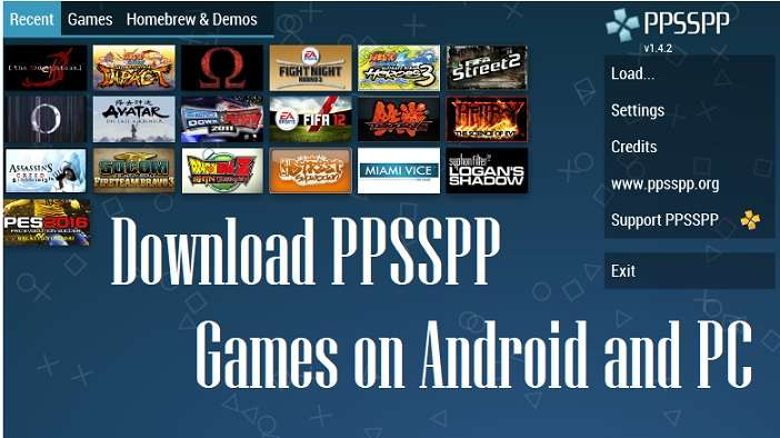 Download PPSSPP Games For Android And PC
