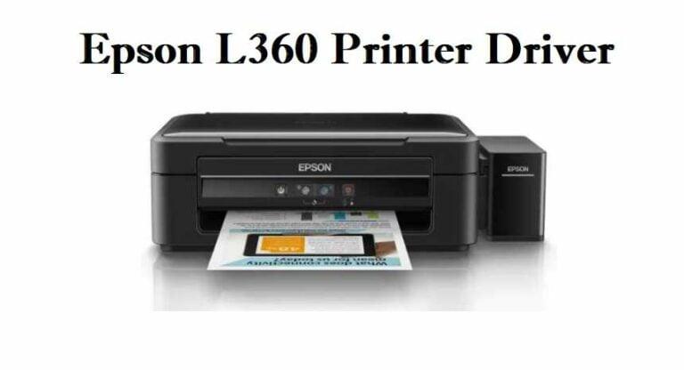 Epson L360 Printer Driver