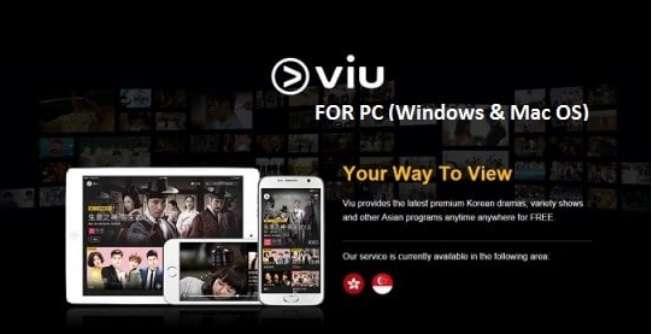 Download & Install Viu App On PC