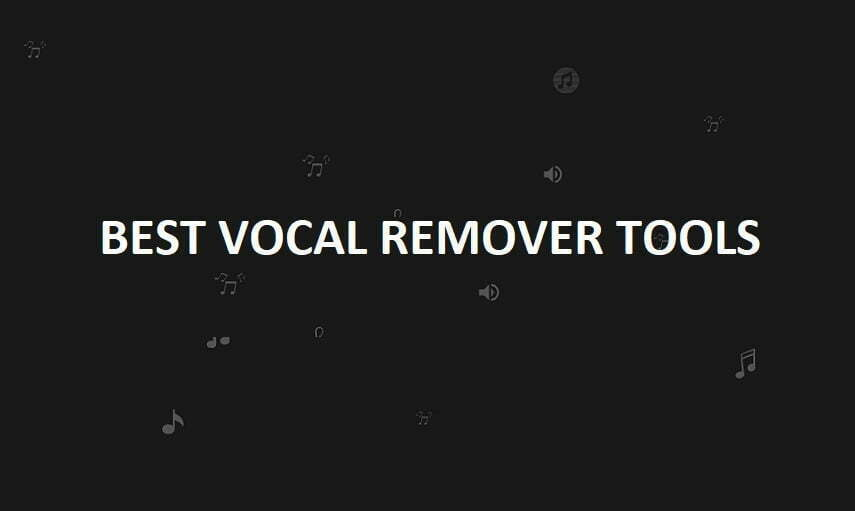 Vocal Remover Tools