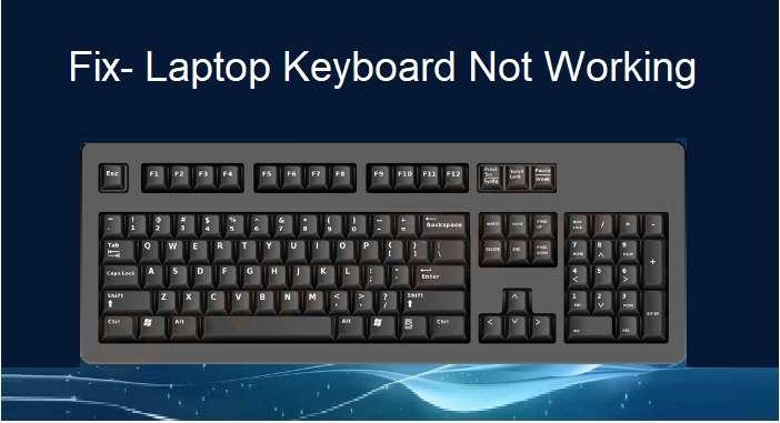 ASUS Laptop Keyboard Not Working