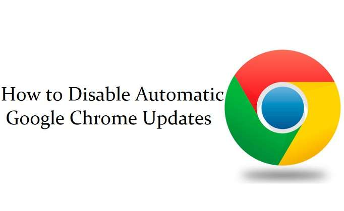 Disable Automatic Google Chrome Updates