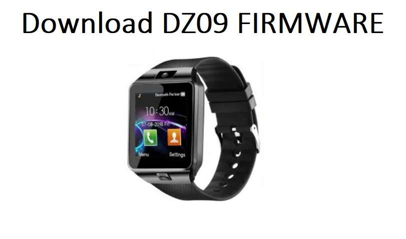How To Flash Your DZ09 Smartwatch