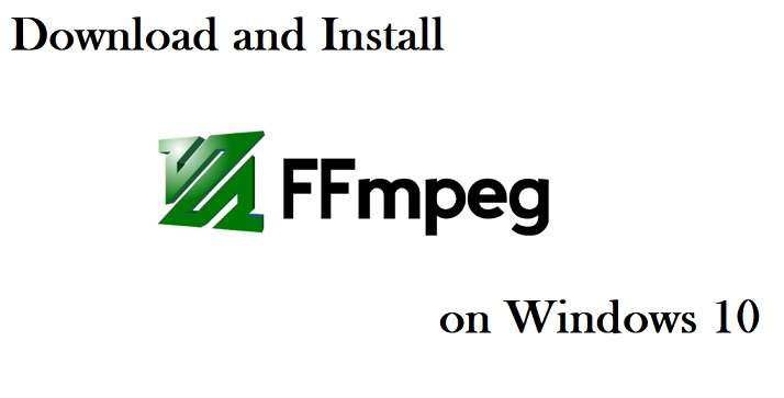 Download And Install FFMPEG