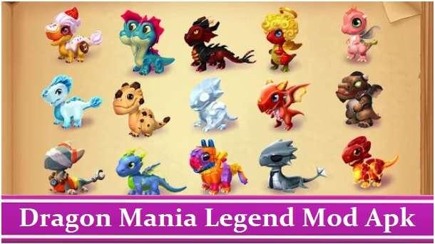 Dragon Mania Legend Mod Apk