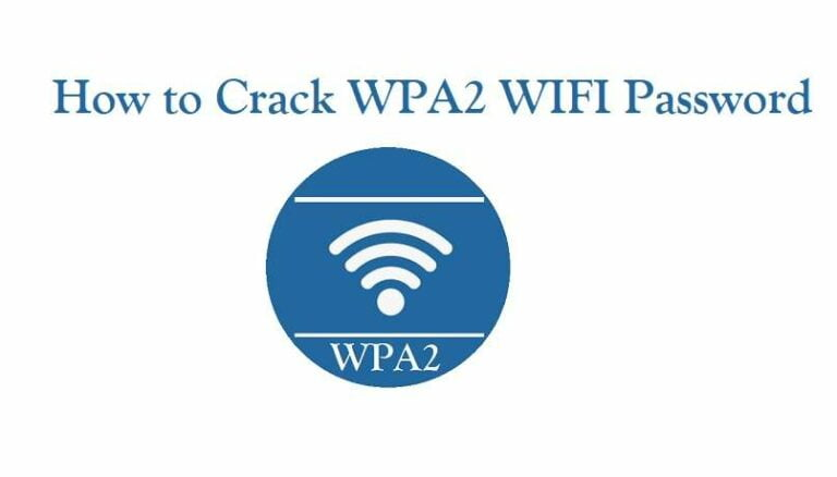 Hack WPA2 WiFi Password