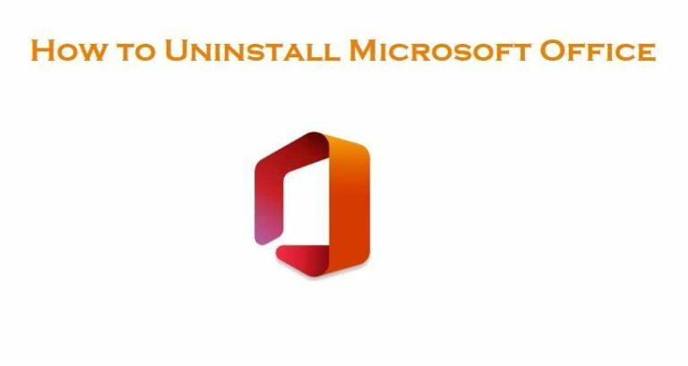 How To Uninstall Microsoft Office
