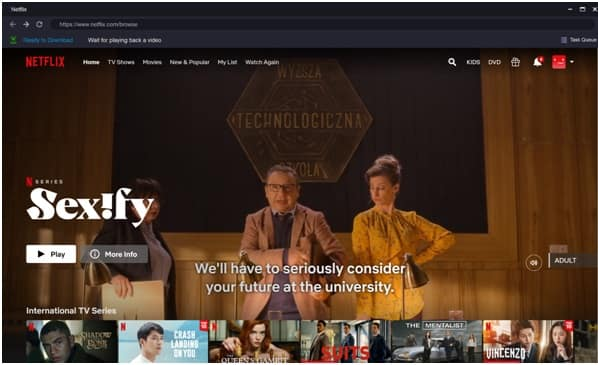 Learn how to install the application and how to download content from Netflix