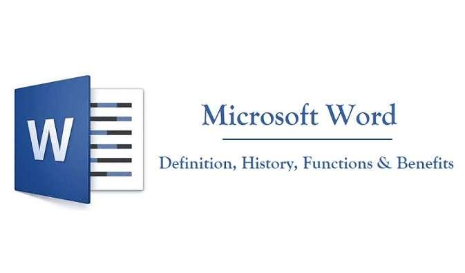 Microsoft Word Definition