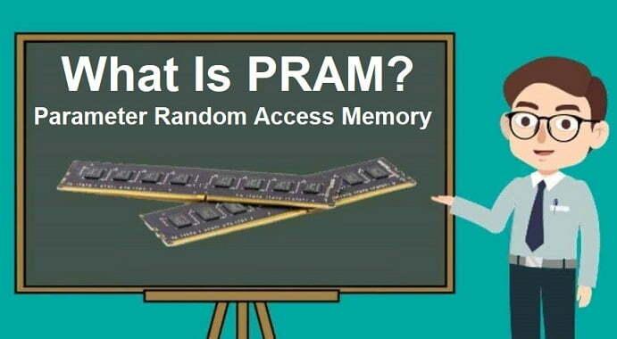 What Is PRAM Parameter Random Access Memory