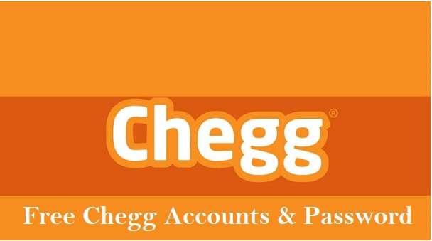 Free Chegg Accounts & Password
