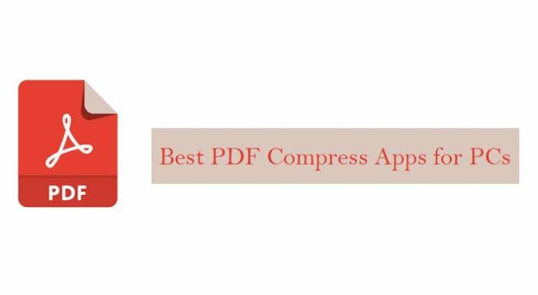 Best PDF Compress Applications For PC