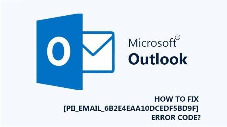 How To Fix [Pii_Email_6b2e4eaa10dcedf5bd9f] error code