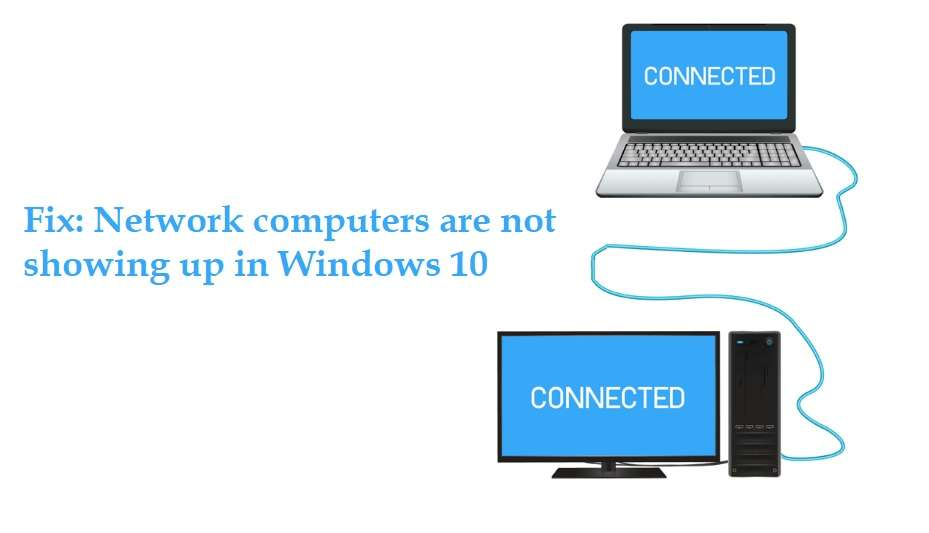 Network computers are not showing up in Windows 10