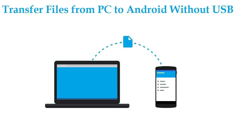 Transfer Files from PC to Android without USB